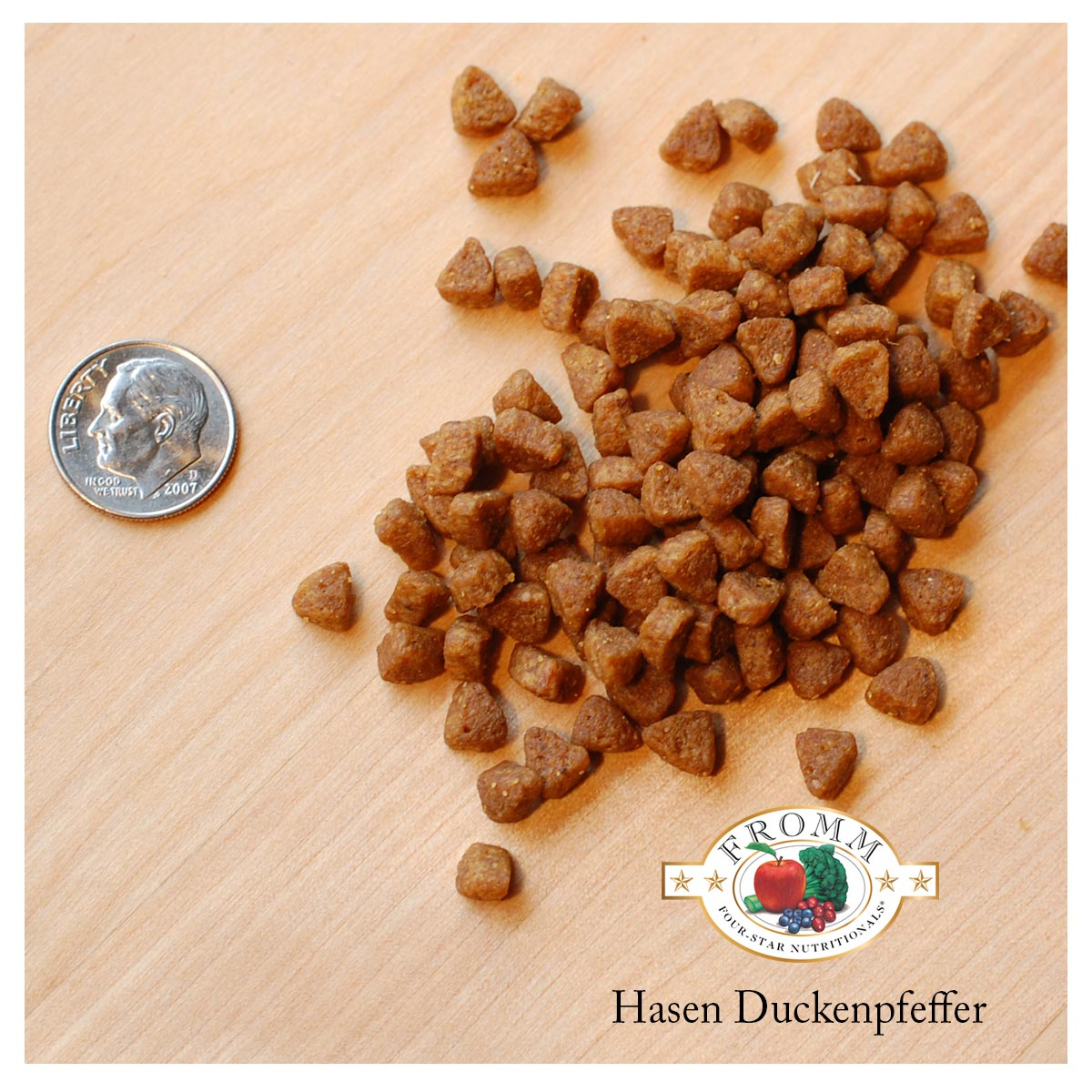 Four Star Grain Free Hasen Duckenpfeffer Dry Cat Food