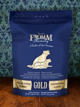 Reduced Activity & Senior Gold Dog Food