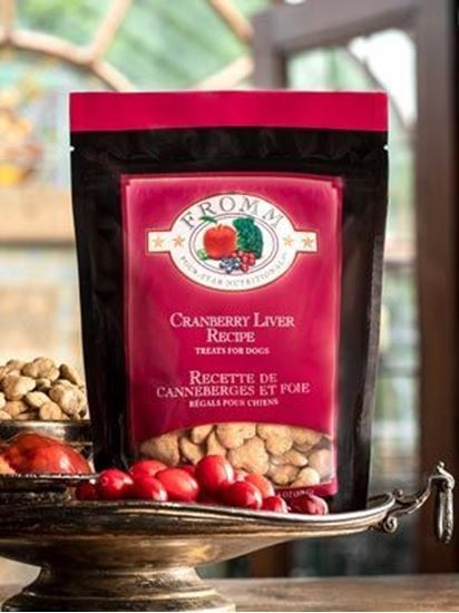 Fromm Four-Star Nutritionals® Cranberry Liver Recipe Treats for Dogs