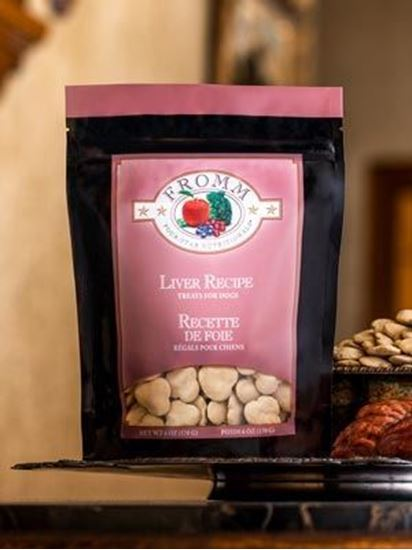 Fromm Four-Star Nutritionals® Liver Recipe Treats for Dogs