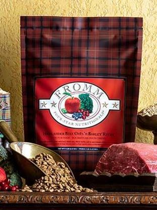 Fromm Four-Star Nutritionals®  Highlander Beef, Oats, 'n Barley™ Recipe Food for Dogs