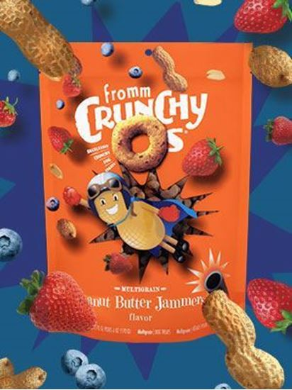 Fromm® Crunchy Os Peanut Butter Jammers™ Flavor Dog Treats Recklessly Crunchy Dog Treats™