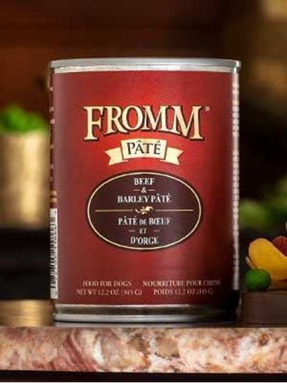 Fromm Beef & Barley Pâté Food for Dogs